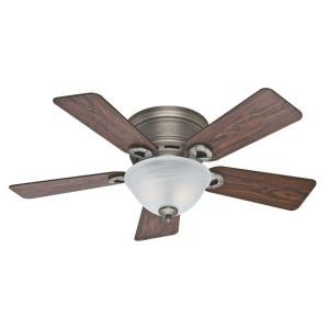 Hunter Conroy 42 in. Antique Pewter Ceiling Fan 51024