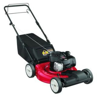 Yard Machines 21 in. 140 cc Gas Self Propelled Lawn Mower 12A A1BA729