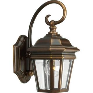 Progress Lighting Crawford Collection Oil Rubbed Bronze 1 light Wall Lantern P5670 108