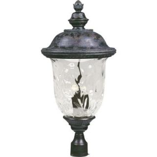 Filament Design Infinite 3 Light Outdoor Oriental Bronze Incandescent Post Lantern HD MA42361227