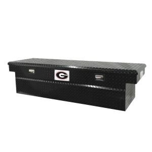 Tradesman 71 in. Aluminum Cross Bed Truck Tool Box DISCONTINUED TALF591BK University of Georgia