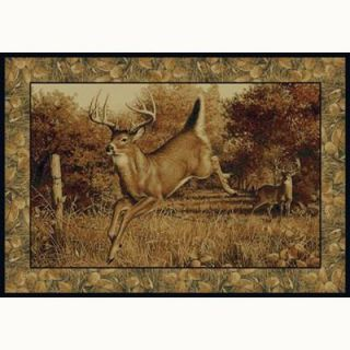 United Weavers Well Meet Again 5 ft. 3 in. x 7 ft. 6 in. Contemporary Lodge Area Rug 132 41617 58