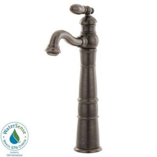 Delta Victorian Single Hole 1 Handle High Arc Bathroom Vessel Faucet in Venetian Bronze 755LF RB
