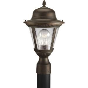Progress Lighting Westport Collection Antique Bronze 1 light Post Lantern P5445 20
