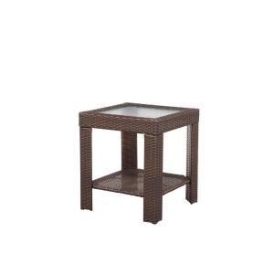 Hampton Bay Beverly Patio Accent Table 65 9102337