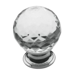 Baldwin 1 9/16 in. Polished Chrome Round Cabinet Knob 4319.260