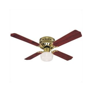 Westinghouse Lighting 42 Casanova Supreme Ceiling Fan in Polished Brass Decor