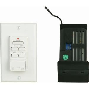 Hampton Bay Wireless Ceiling Fan Wall Control DISCONTINUED T1/R1