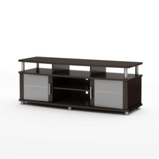 South Shore Furniture City Life TV Stand in Chocolate 4219677