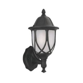 Designers Fountain Greenwood Collection Wall Mounted Outdoor Black Lantern HC0508