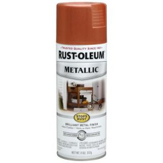 Rust Oleum Stops Rust 11 oz. Protective Enamel Metallic Copper Spray Paint (6 Pack) 7273830