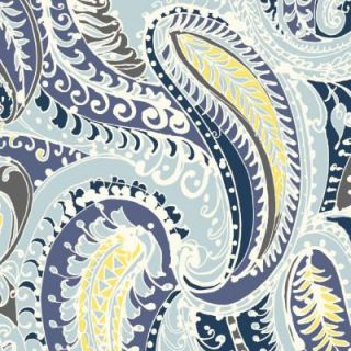 Hampton Bay Stella Paisley Outdoor Fabric by the Yard DISCONTINUED AD22540 D10