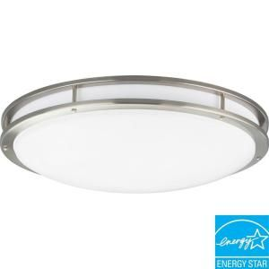 Progress Lighting Brushed Nickel 3 light Fluorescent Fixture P7252 09EBWB