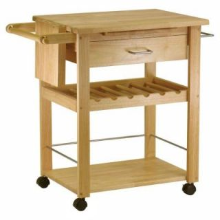 Winsome Wood 36 1/4 in. Deluxe Kitchen Cart DISCONTINUED 83634