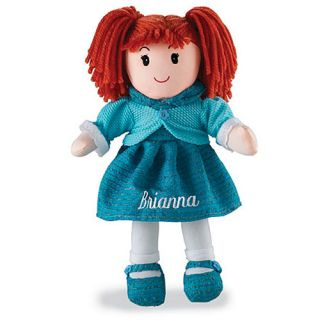 Personalized Rag Doll, Redhead UNASSIGNED SHELF