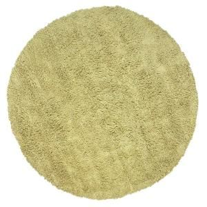 Home Decorators Collection Ultimate Shag Sea foam Green 8 ft. Round Area Rug 3311493660
