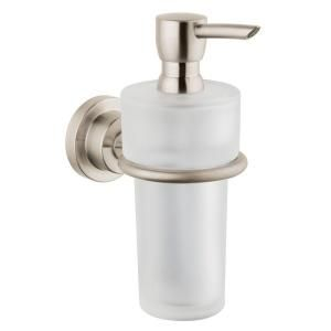 Hansgrohe Axor Citterio Wall Mounted Lotion/Soap Dispenser in Brushed Nickel 41719820
