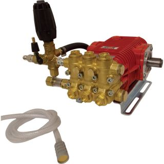 NorthStar Easy Bolt On Super High Flow Pressure Washer Pump   6.0 GPM, 3000 PSI,