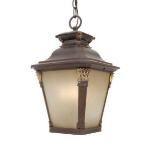 Hampton Bay Hanging Outdoor Augustain Bronze Lantern DISCONTINUED HD161203