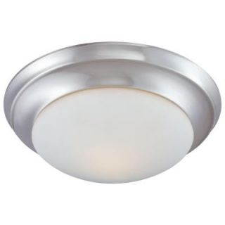 Thomas Lighting 1 Light Flush Mount Brushed Nickel Ceiling Fixture 190034217