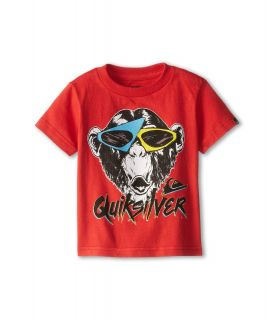 Quiksilver Kids Moneky Biz Tee Boys T Shirt (Red)