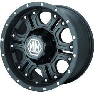 Mayhem Havoc 20x9 Black Wheel / Rim 6x5.5 with a  12mm Offset and a 108.00 Hub Bore. Partnumber 8020 2983MB Automotive
