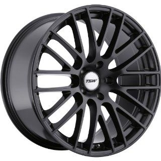TSW Max 20 Black Wheel / Rim 5x120 with a 35mm Offset and a 76 Hub Bore. Partnumber 2010MAX355120M76 Automotive