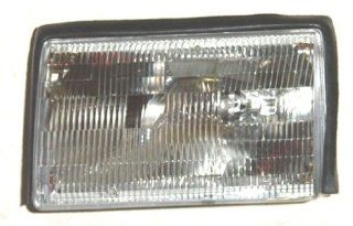 OE Replacement Ford Mustang Driver Side Headlight Assembly Composite (Partslink Number FO2502106) Automotive