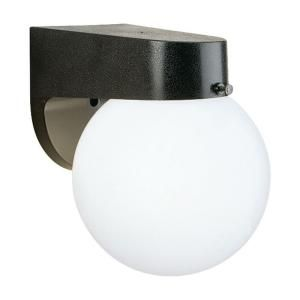 Thomas Lighting 1 Light Wall Mount Outdoor Black Lantern SL94357