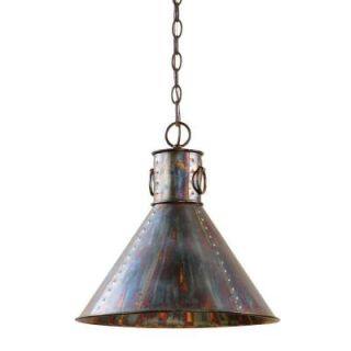 Global Direct 1 Light Oxidized Bronze Pendant 21923