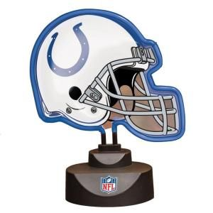The Memory Company NFL 10.5 in. Neon Helmet Lamp   Indianapolis Colts NFL IND 893