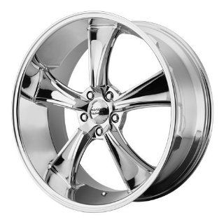American Racing Vintage Boulevard 17x8 Chrome Wheel / Rim 5x4.75 with a 0mm Offset and a 72.60 Hub Bore. Partnumber VN80578034200 Automotive