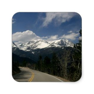 Trail Ridge Road, Rocky Mountain National Park, CO Stickers