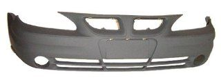 OE Replacement Pontiac Grand AM Front Bumper Cover (Partslink Number GM1000721) Automotive