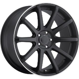 Dropstars 643B 18 Black Wheel / Rim 5x4.25 & 5x115 with a 42mm Offset and a 73 Hub Bore. Partnumber 643B 8800742 Automotive