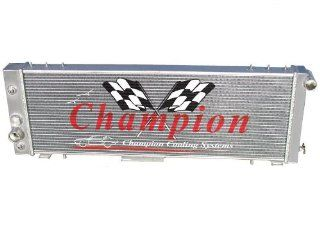 3 Row All Aluminum Replacement Radiator for the Jeep Cherokee, Jeep Wagoneer, Jeep Comanche, and Jeep J Series   Manufactured by Champion Cooling Systems, Part Number 78 Automotive