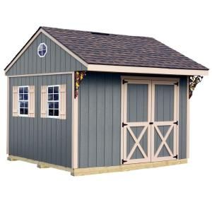 Best Barns Northwood 10 ft. x 10 ft. Wood Storage Shed Kit with Floor including 4x4 Runners northwood_1010df