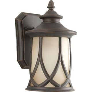 Progress Lighting Resort Collection 1 Light Outdoor Aged Copper Wall Lantern P5987 122DI