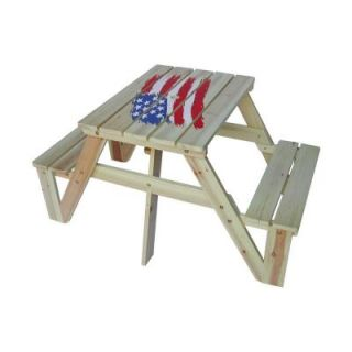Lohasrus Flag Collection Kids Picnic Table MM20331