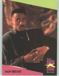 1991 Pro Set Superstars MusicCards U.K. Edition # 138 Ralph Tresvant (Collectible Pop Music / Rock Star Trading Card) Toys & Games