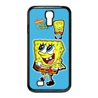 Well designed Cartoon SpongeBob SquarePants Cover Case For Samsung Galaxy S4 i9500  S4SS141 Cell Phones & Accessories