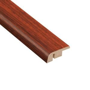 Home Legend High Gloss Brazilian Cherry 12.7 mm Thick x 1 1/4 in. Wide x 94 in. Length Laminate Carpet Reducer Molding HL1013CR