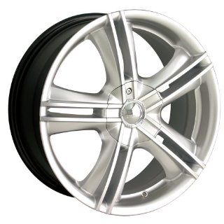 "Ion Alloy 161 Hypersilver Wheel with Machined Face (15x7"") Automotive"
