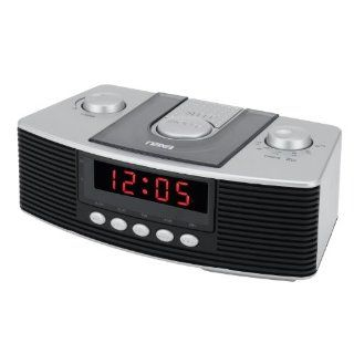 Naxa NRC 159 Digital Alarm Clock with AM/FM Radio and Snooze [Electronics] Electronics