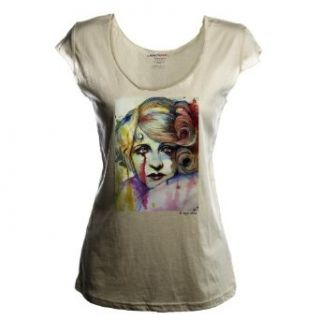 "WearThatART ""Ms.Darby"" By Olga Noes Womens Deep Neck"