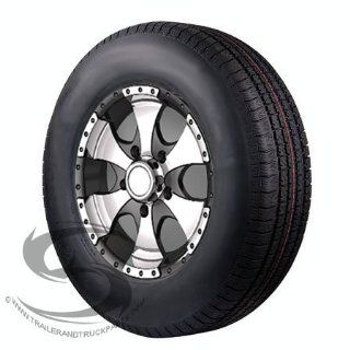 14 x 6 Transformer Aluminum Trailer Wheel 185R14LT Radial Light Truck Tire Assby. Automotive