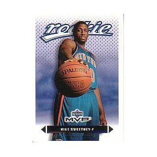 2003 04 Upper Deck MVP #209 Mike Sweetney RC Sports Collectibles