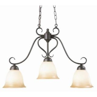 Design House Cameron 3 Light Oil Rubbed Bronze Island Light Fixture 512699