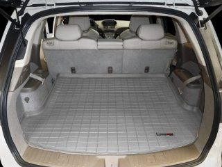 WeatherTech Custom Cargo Liner Trunk Mat   Acura MDX   2007 2013   Grey   Behind 2nd Row Automotive