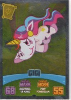 Moshi Monsters Series 3 Code Breakers No. 191 GIGI   Foil Individual Trading Card Toys & Games